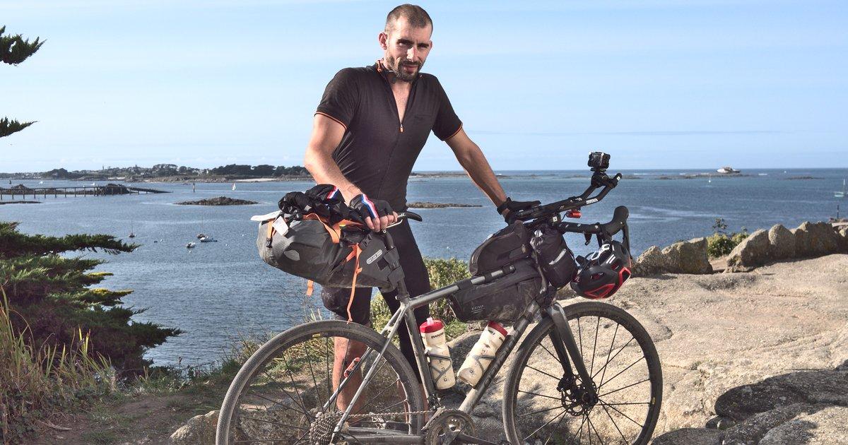 LR2R De La Rochelle à Roscoff à vélo d'une traite par Julien Rabier