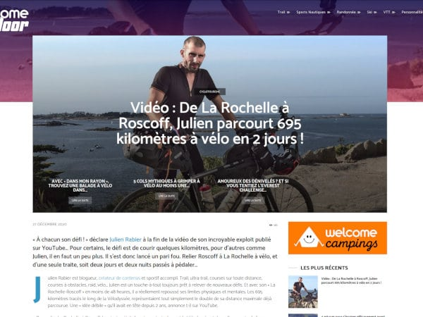revue de presse lr2r julien rabier welcome outdoor