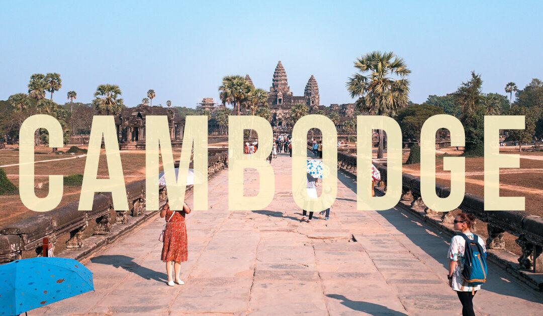 Un moment d'évasion au Cambodge