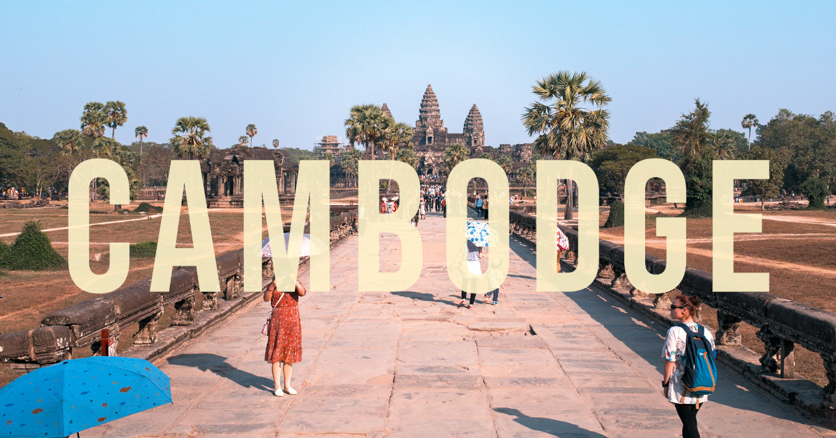 video voyage au cambodge